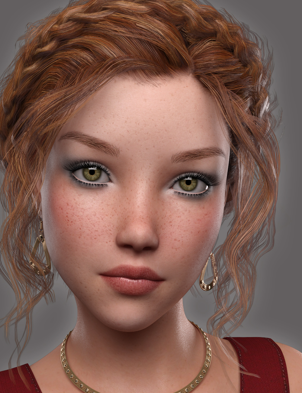 GDN Maria for Genesis 3 Female by: Valery3D, 3D Models by Daz 3D