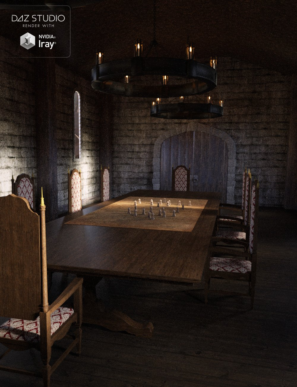 Fantasy War Room by: , 3D Models by Daz 3D