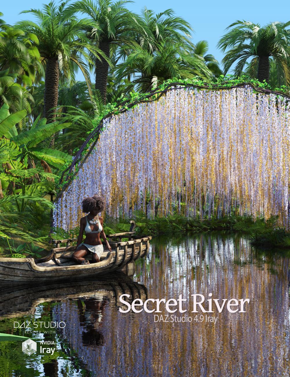 Secret River by: Andrey PestryakovPeanterra, 3D Models by Daz 3D