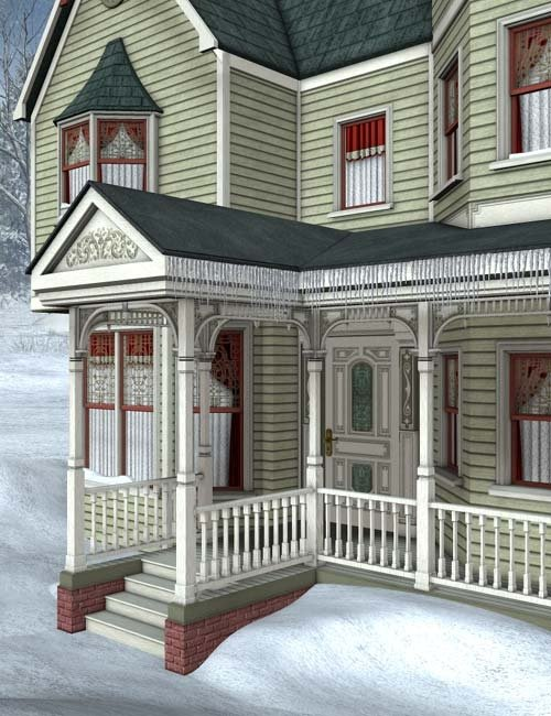 Winter Snow by: IsauraS, 3D Models by Daz 3D