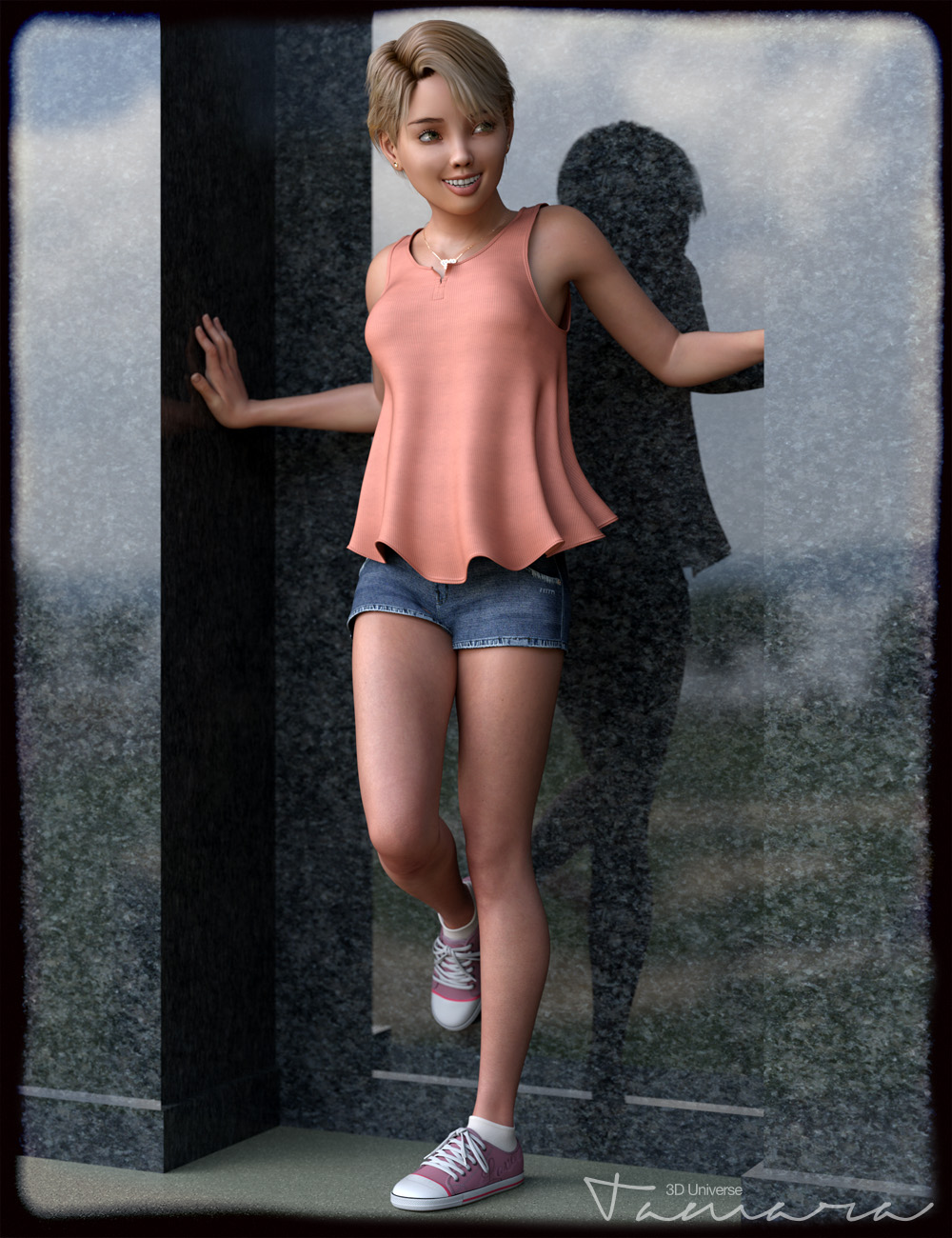 Tamara Clothing and Accessories for Genesis 3 Female(s) by: 3D Universe, 3D Models by Daz 3D