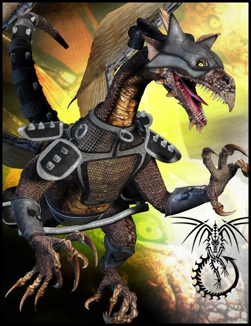Flying Fortress for Millennium Dragon 2 by: LesthatVal3dartsagesdragon, 3D Models by Daz 3D