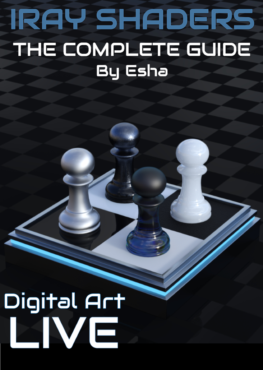 The Complete Guide to Creating Iray Shaders by: Digital Art Liveesha, 3D Models by Daz 3D