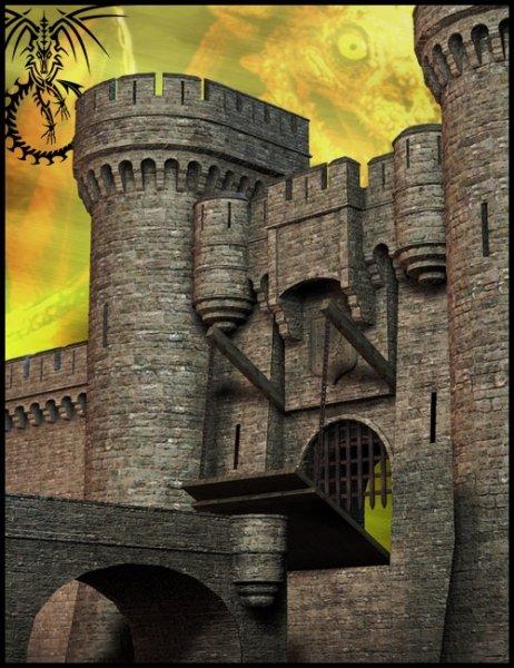 Castle Creator by: Faveral, 3D Models by Daz 3D