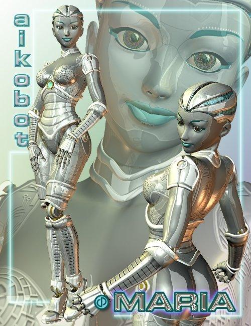 Aikobot Maria by: Parris, 3D Models by Daz 3D
