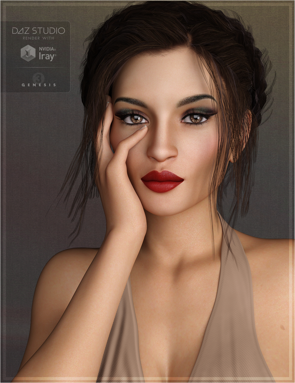 Maggy for Genesis 3 Female by: OziChick, 3D Models by Daz 3D
