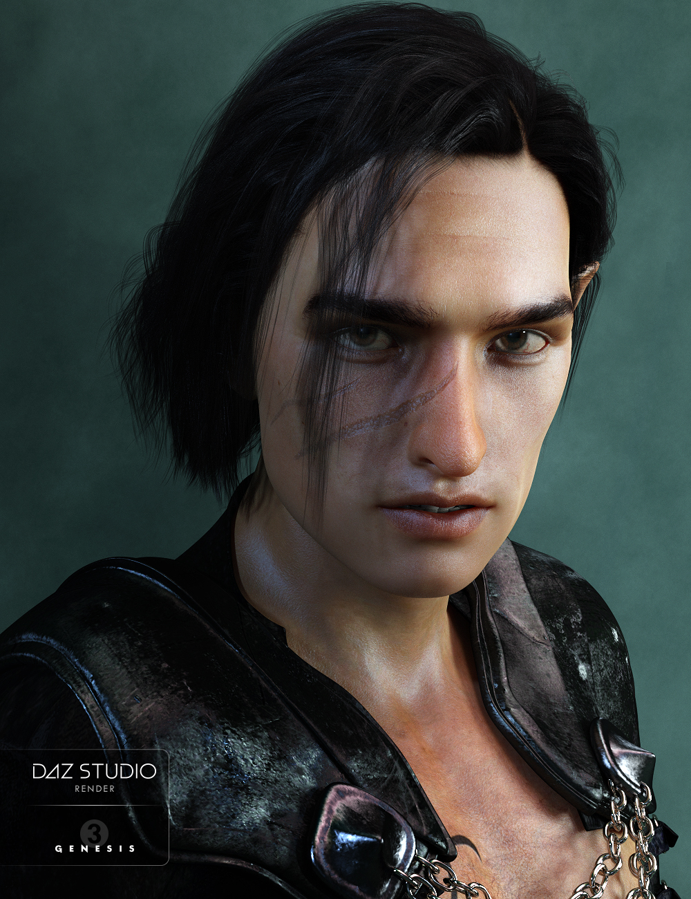 Evan for Genesis 3 Male by: Darwins Mishap(s), 3D Models by Daz 3D