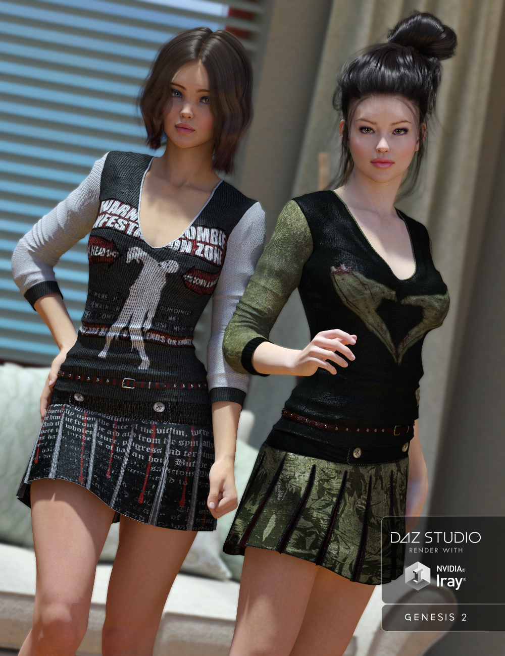 Zompleats by: , 3D Models by Daz 3D