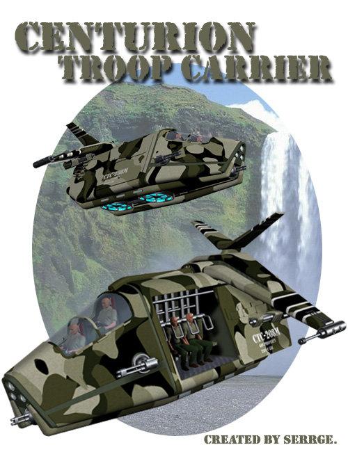 Centurion Troop Carrier by: Daz Originals, 3D Models by Daz 3D