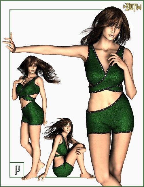 JWear V3 by: DTigerWoman, 3D Models by Daz 3D