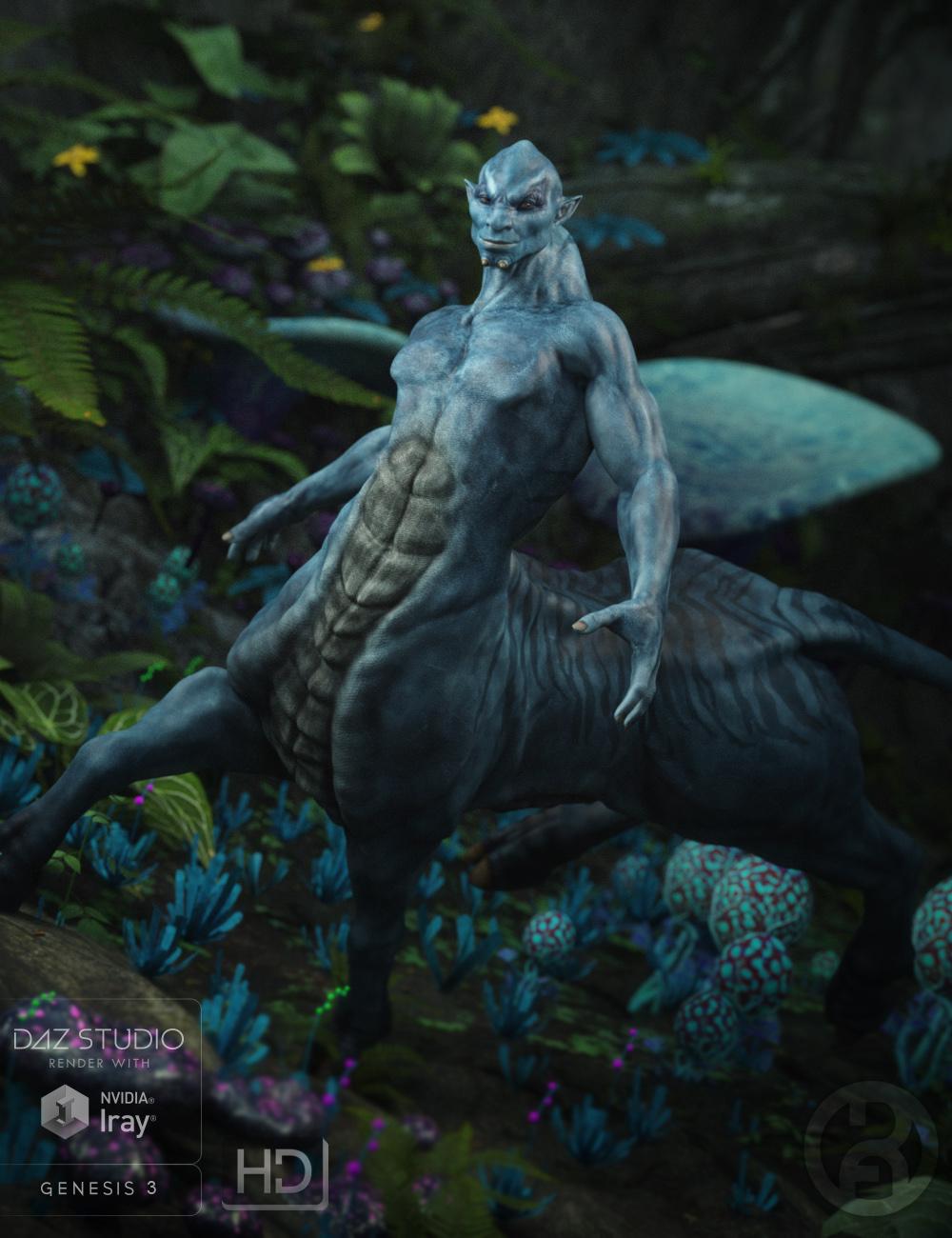 Alpha Centaur for Centaur 7 Male by: RawArt, 3D Models by Daz 3D