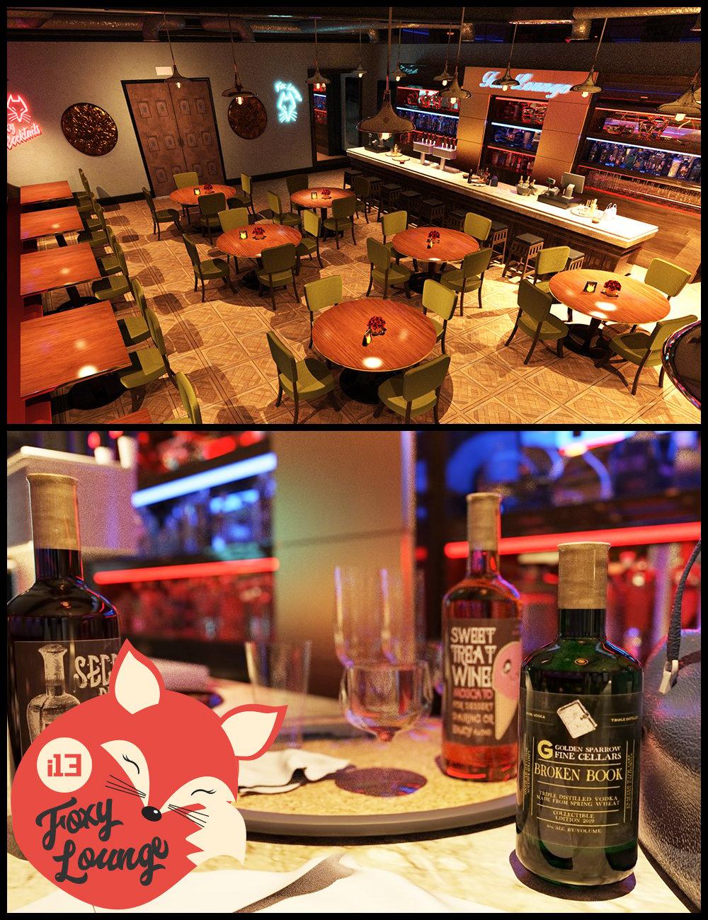 i13 Foxy Lounge by: ironman13, 3D Models by Daz 3D