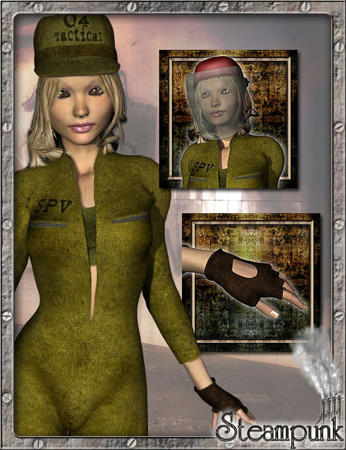 S.P.V. Tactical Suit for A3 by: LesthatVal3dart, 3D Models by Daz 3D