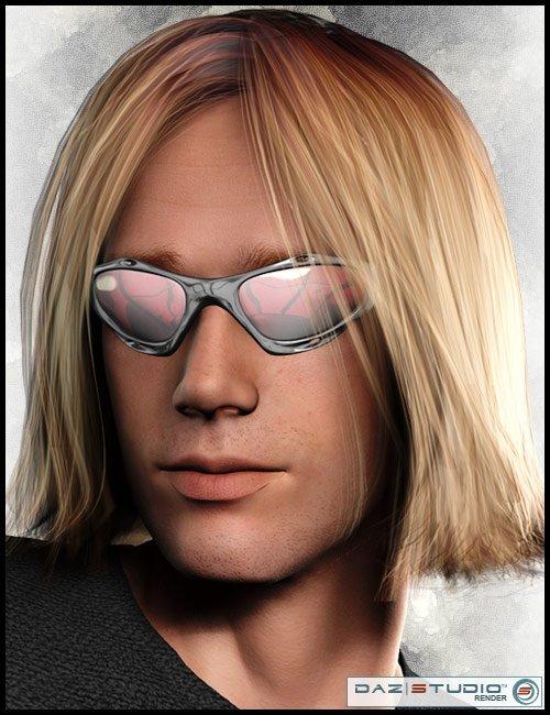 Kurt Hair by: Neftis3D, 3D Models by Daz 3D