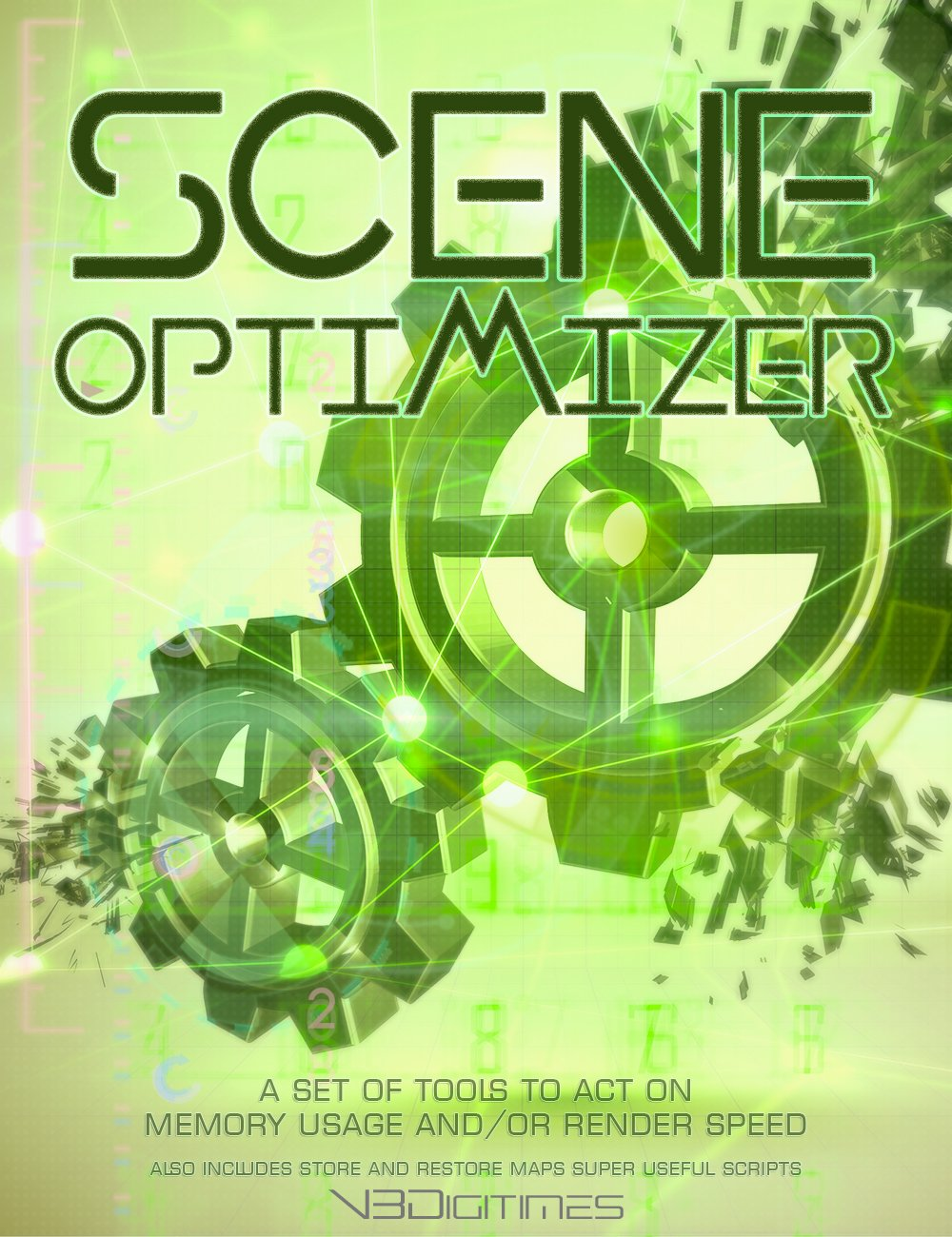 Scene Optimizer by: V3Digitimes, 3D Models by Daz 3D