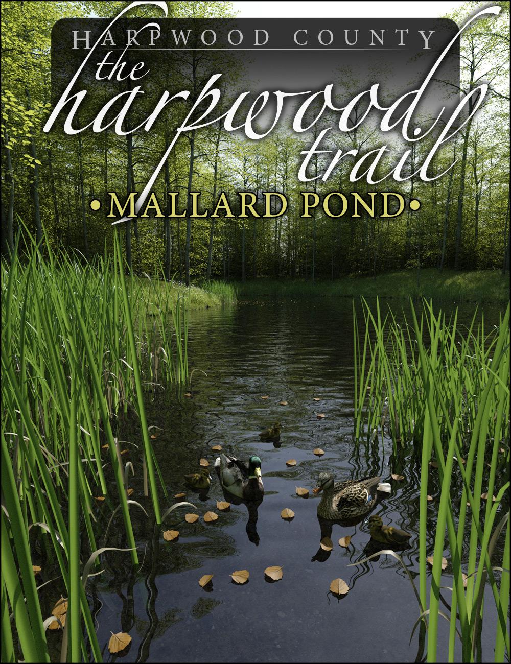 The Harpwood Trail - Mallard Pond by: HowieFarkes, 3D Models by Daz 3D