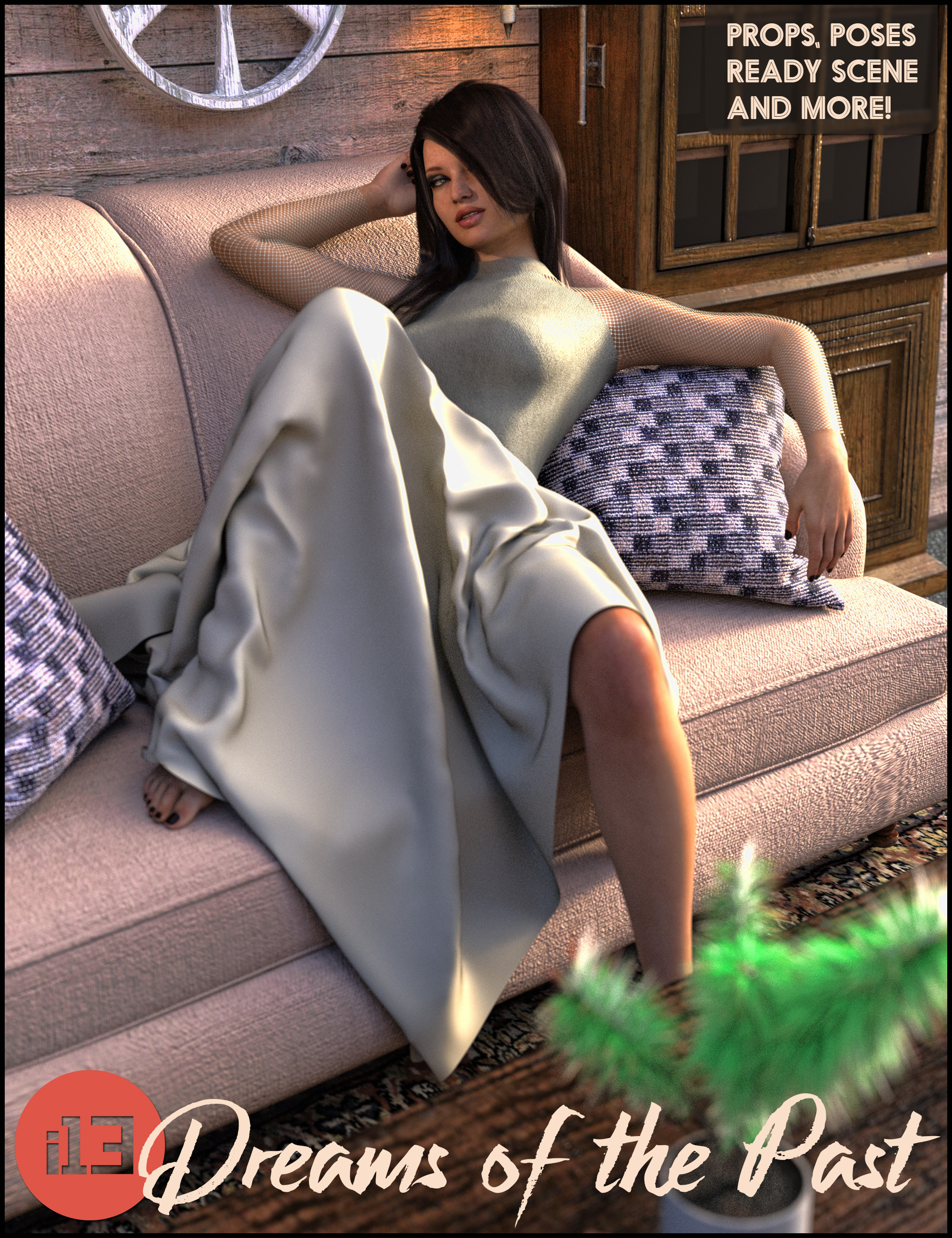 i13 Dreams of the Past by: ironman13, 3D Models by Daz 3D