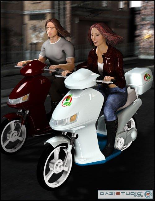 E-Bike by: , 3D Models by Daz 3D