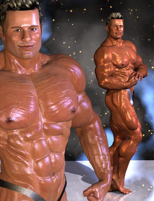 David BB by: MusclemanJepe, 3D Models by Daz 3D