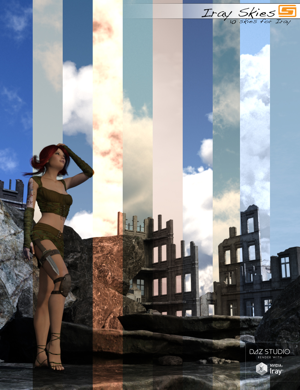 Iray Skies - 10 Skies for Use with Iray by: Sedor, 3D Models by Daz 3D