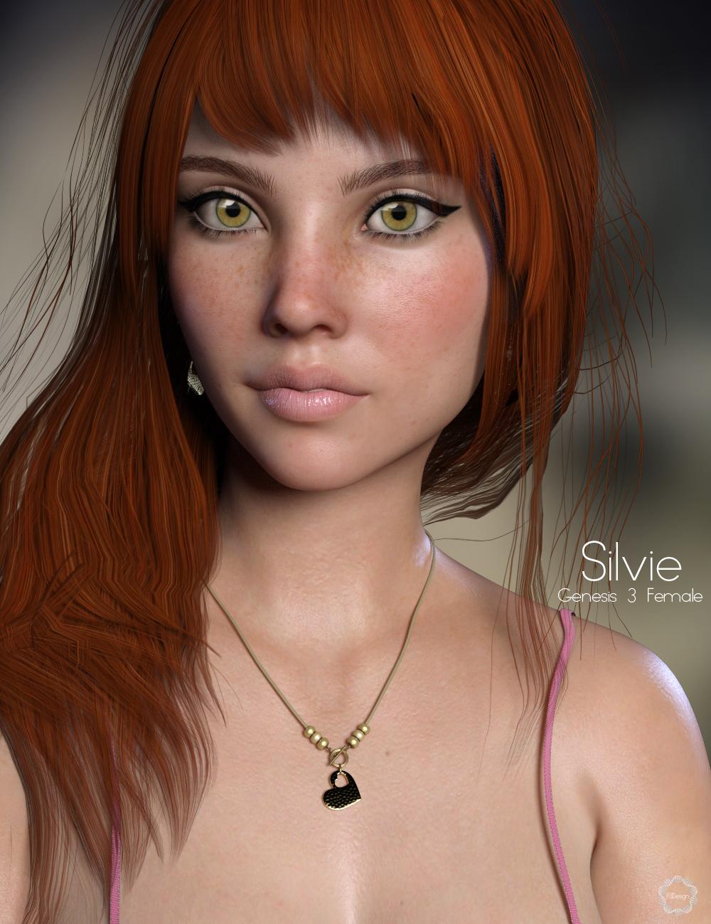 P3D Silvie by: P3Design, 3D Models by Daz 3D