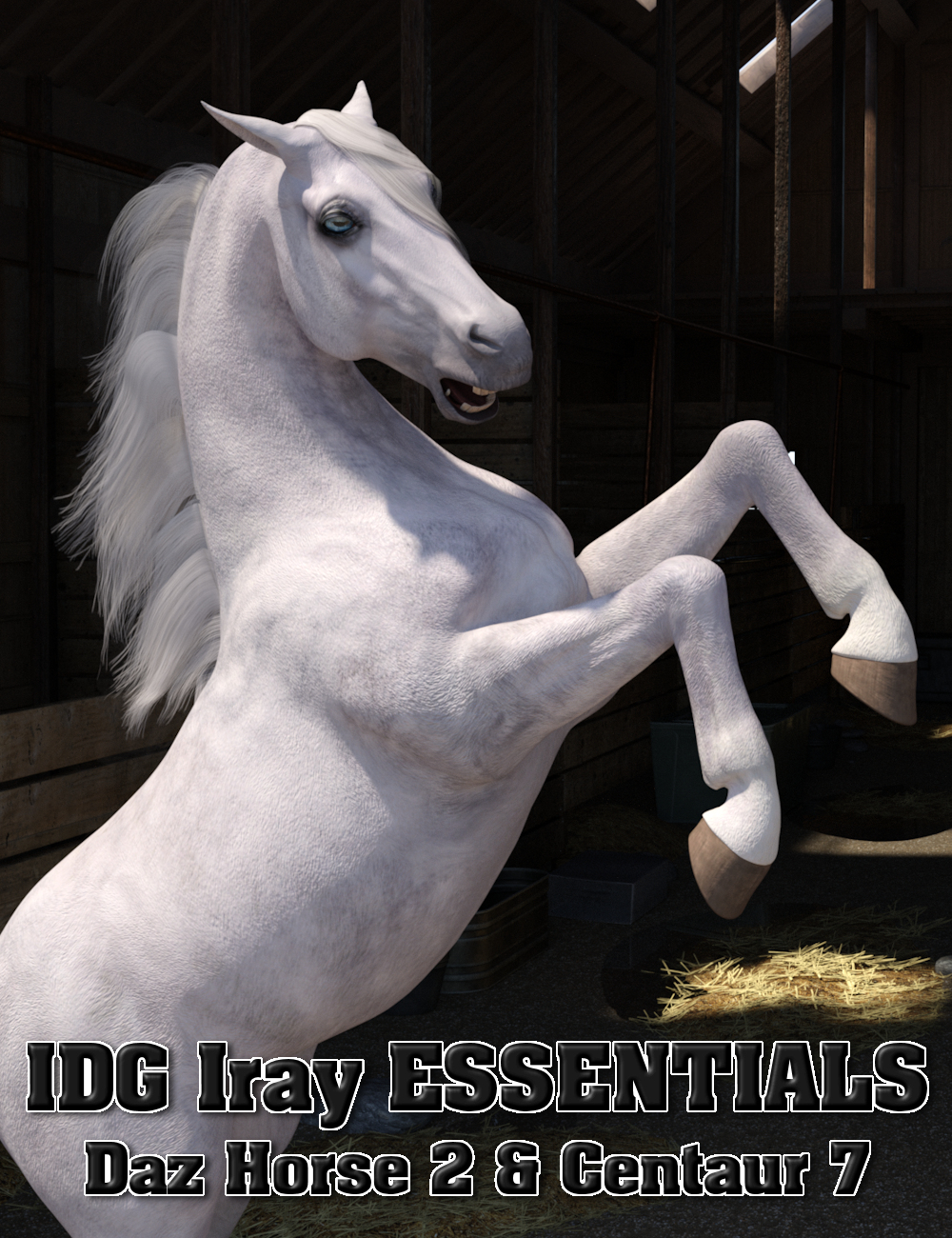 IDG Iray Essentials - Daz Horse 2 and Centaur 7 by: IDG DesignsDestinysGardenInaneGlory, 3D Models by Daz 3D