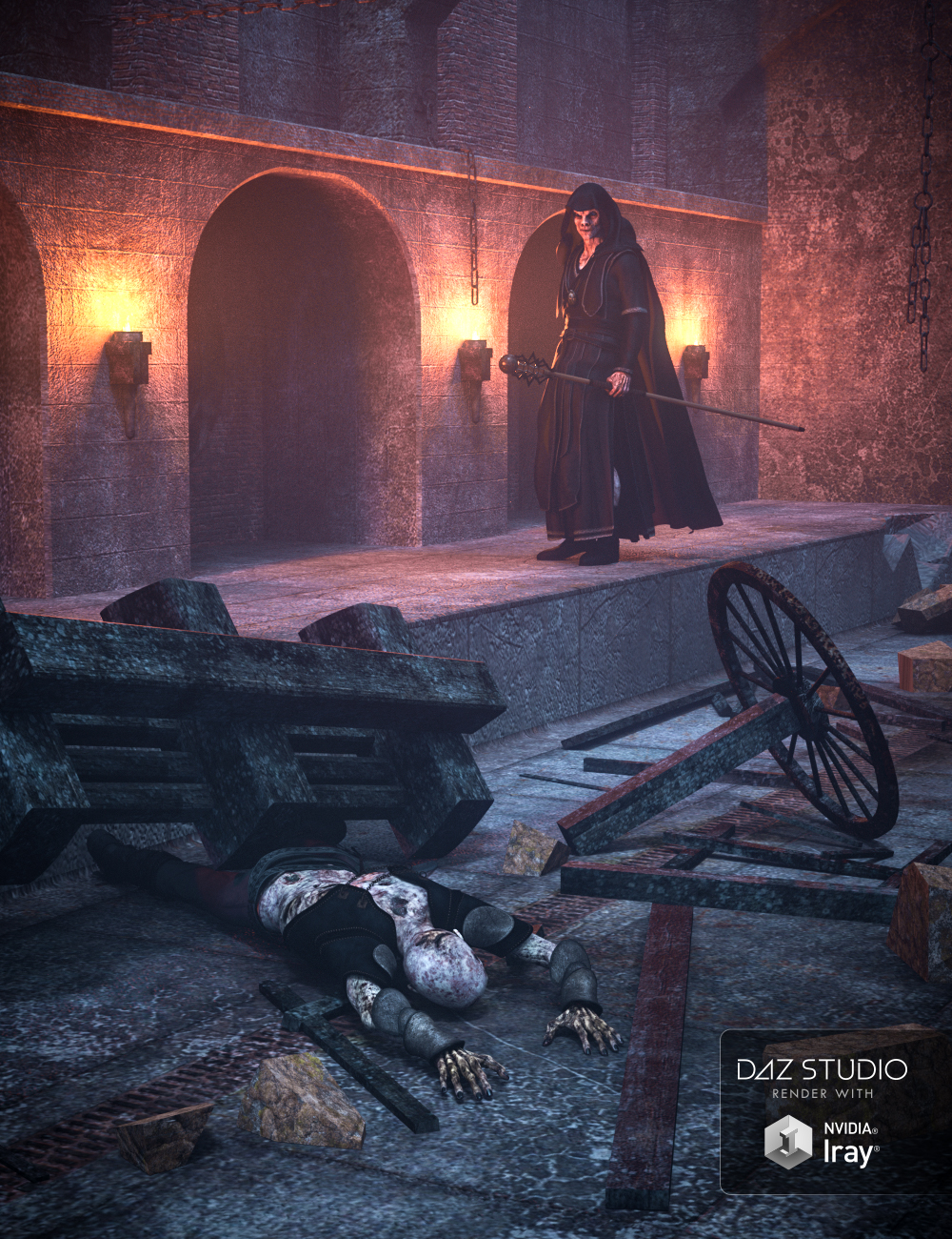 Chamber of Sorrows by: ForbiddenWhispersVal3dart, 3D Models by Daz 3D