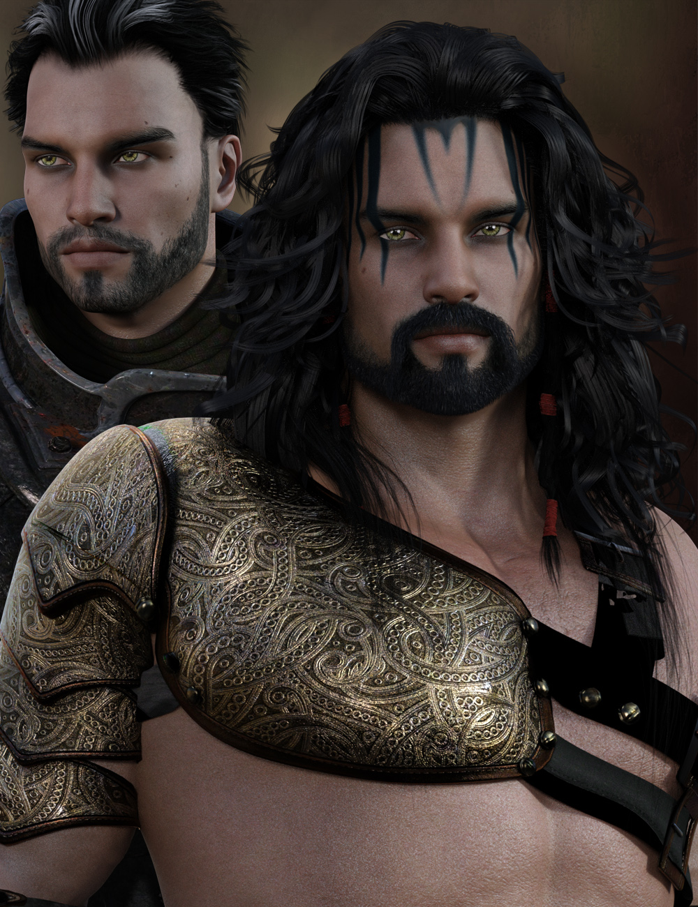 Brahm for Genesis 3 Male by: gypsyangel, 3D Models by Daz 3D