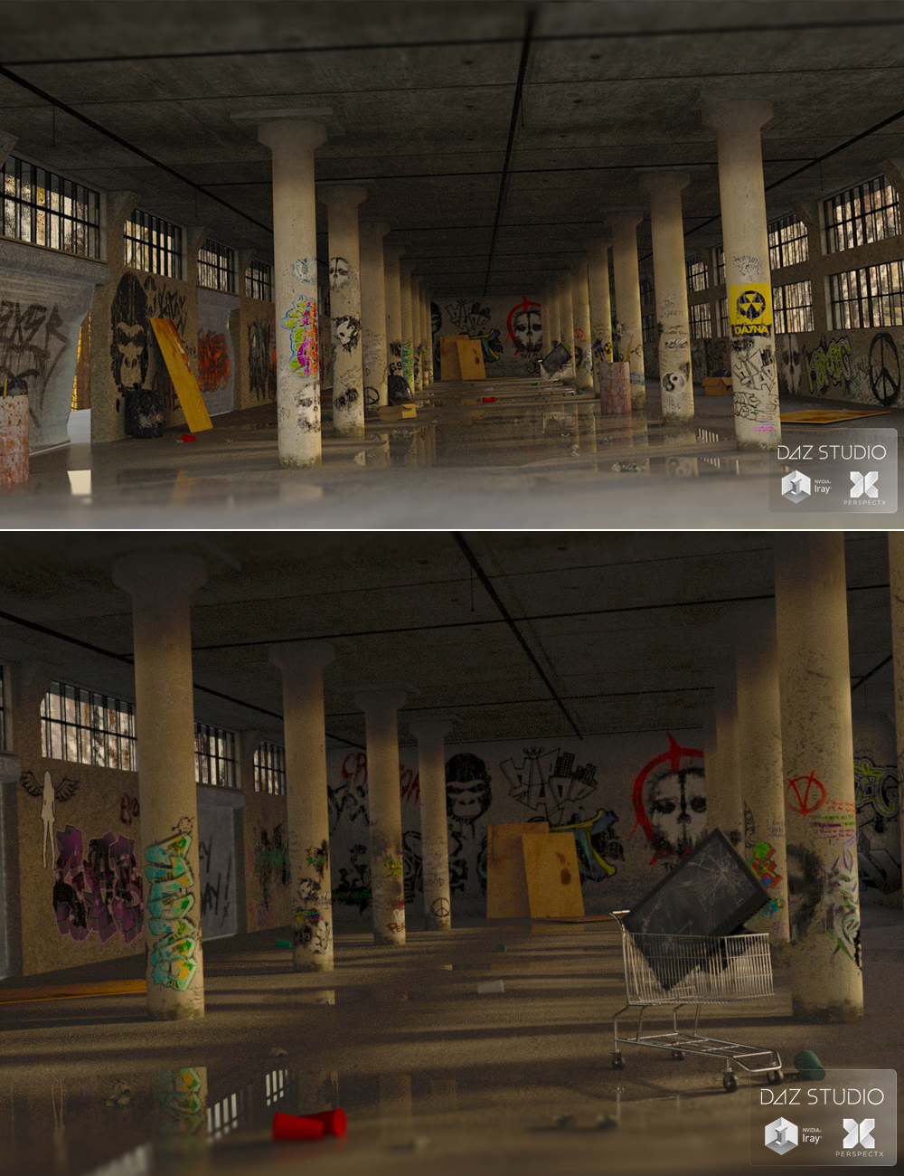 Bronx Warehouse by: PerspectX, 3D Models by Daz 3D