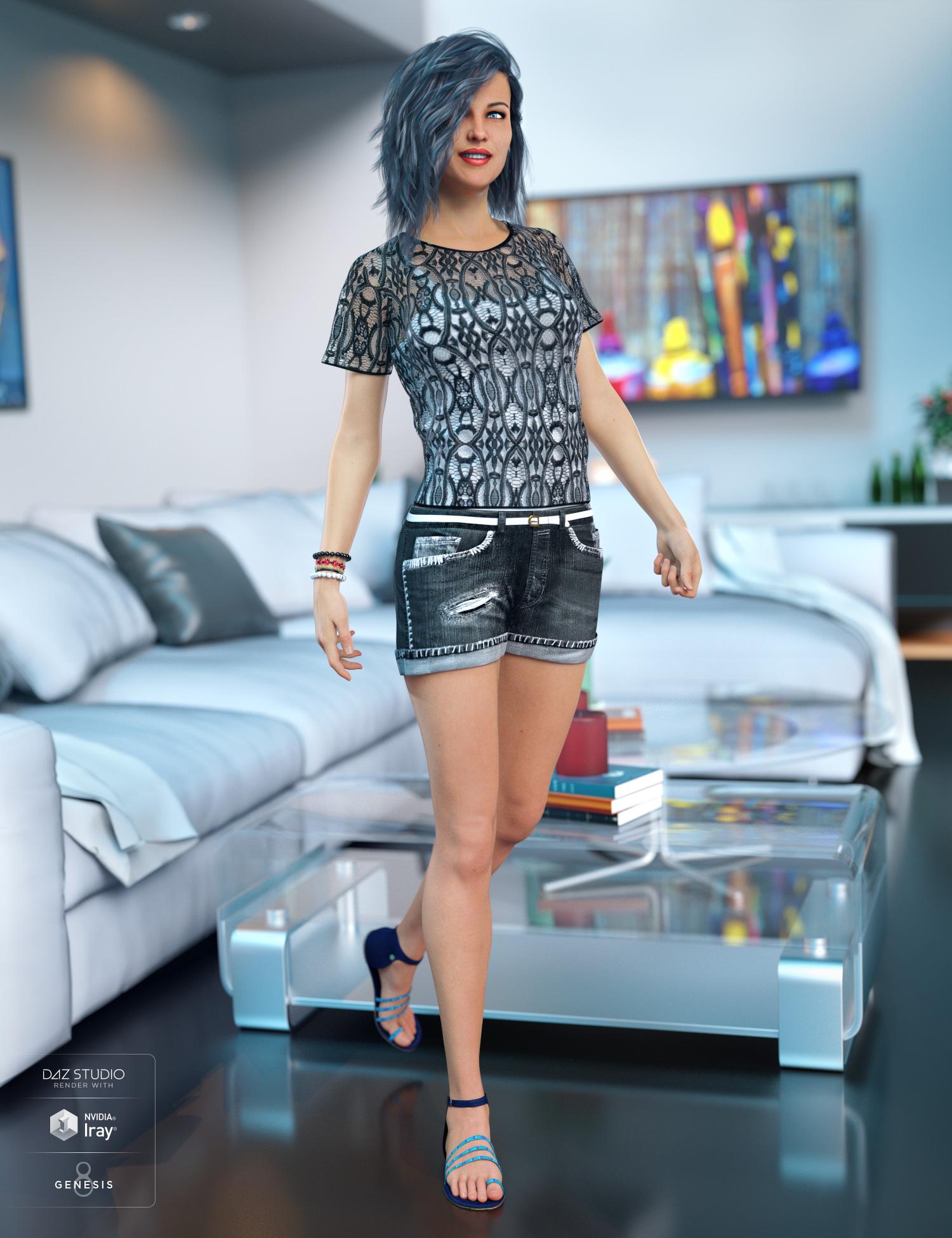 Victoria 8 Starter Bundle by: , 3D Models by Daz 3D