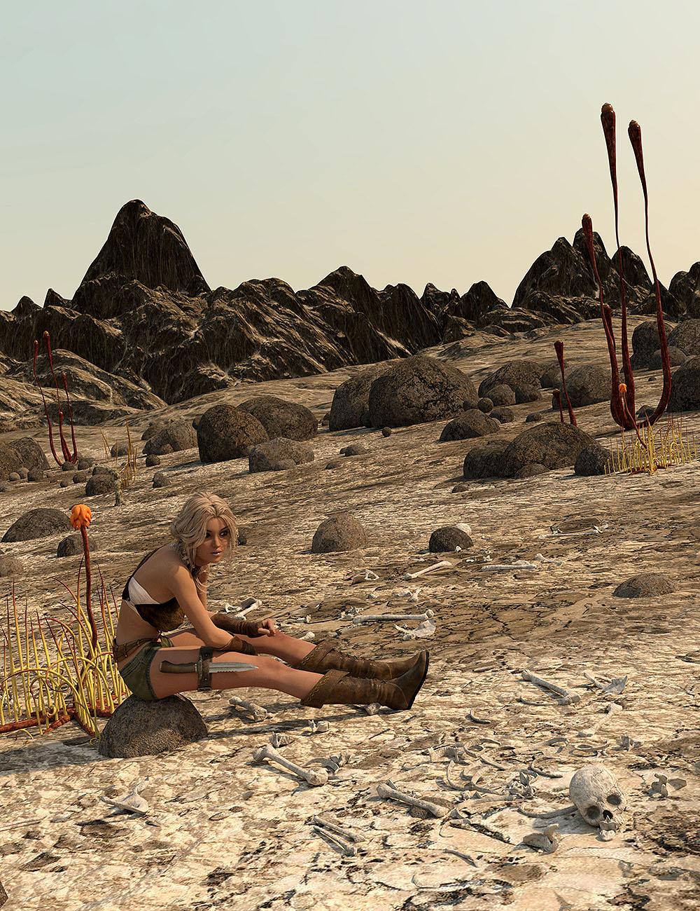 The Morak Badlands by: Orestes Graphics, 3D Models by Daz 3D