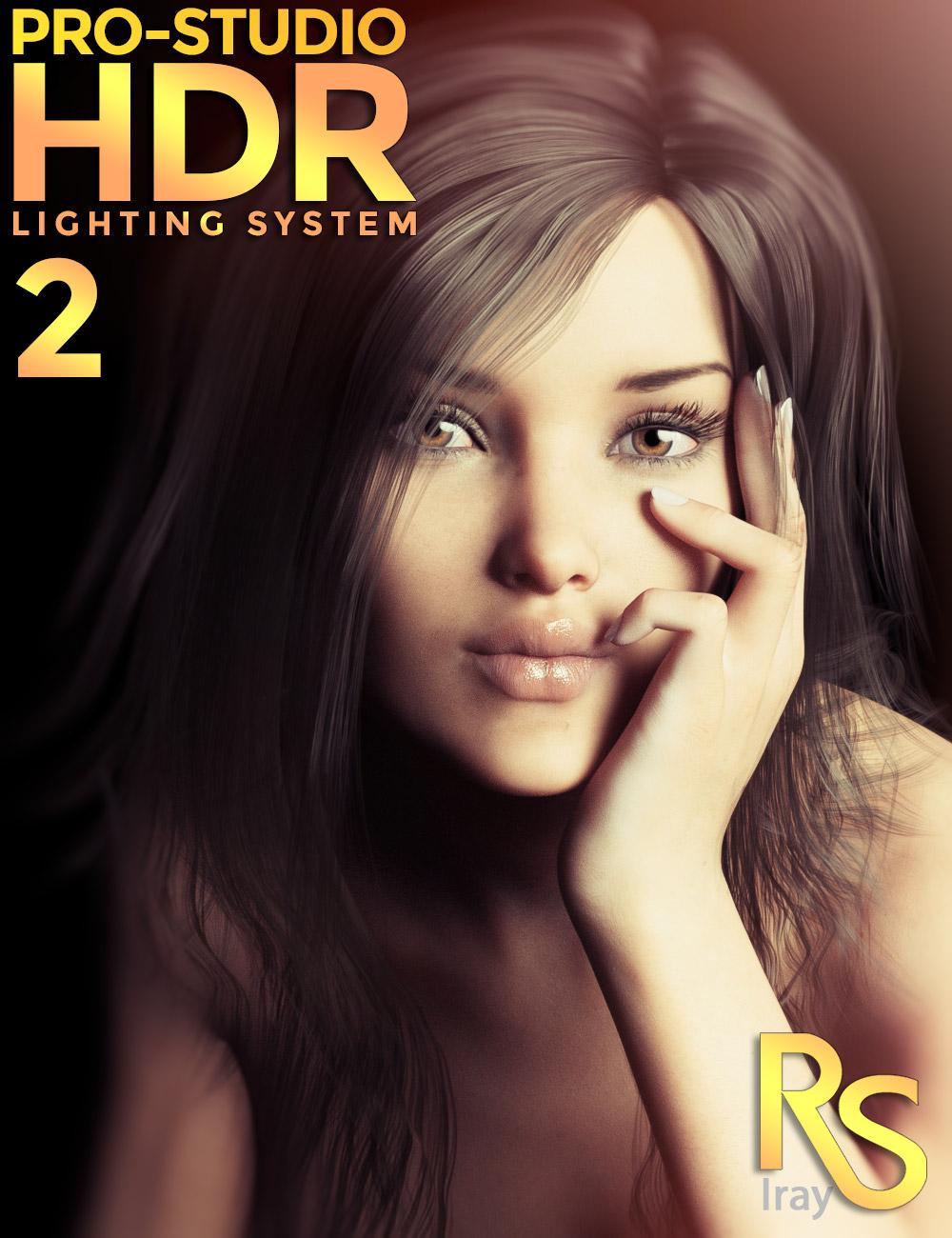 PRO-Studio HDR Lighting System 2 by: Colm Jackson, 3D Models by Daz 3D