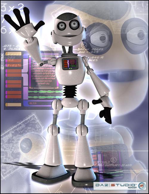 Toon-Bot Chomper by: , 3D Models by Daz 3D