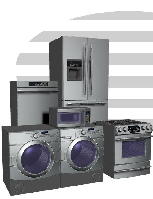 Appliances Pack by: , 3D Models by Daz 3D