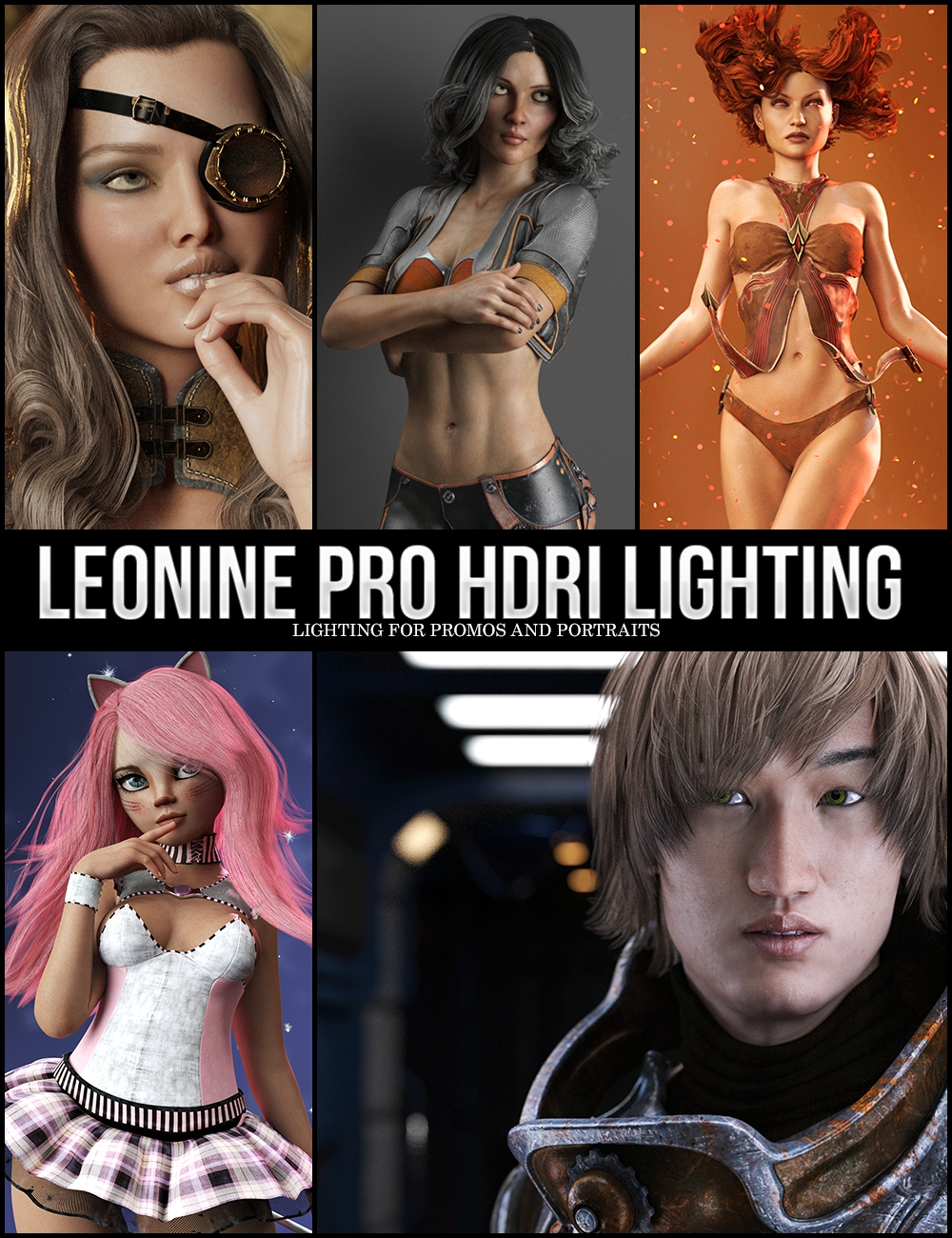 LY Leonine Pro HDR Lighting by: Lyoness, 3D Models by Daz 3D