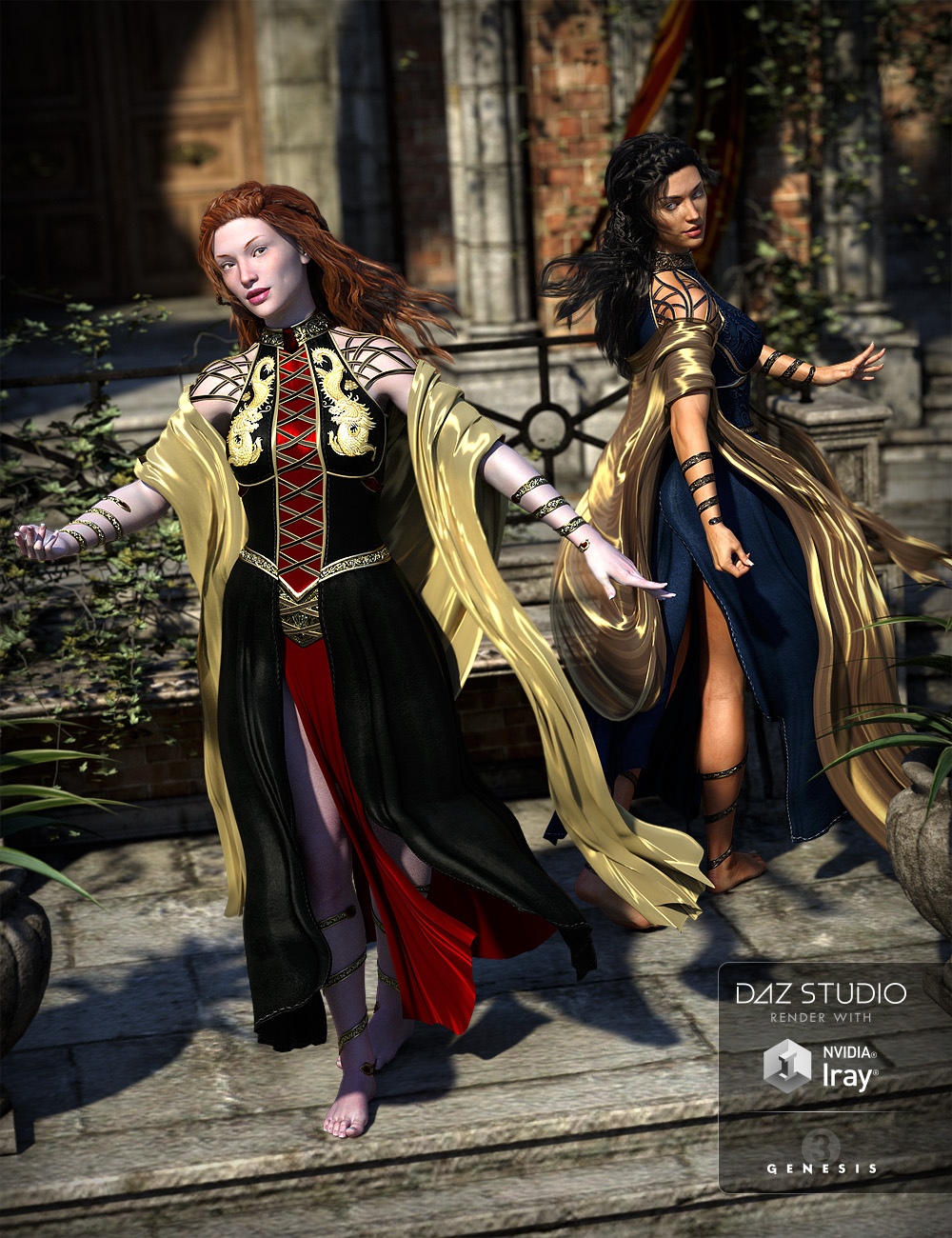 The Tyto Ensemble for Genesis 3 Female(s) by: ArkiShox-Design, 3D Models by Daz 3D