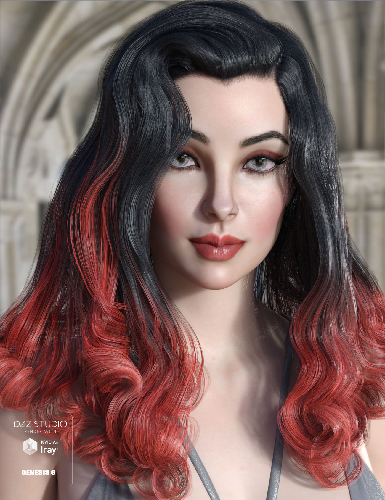 Fane Hair and Character for Genesis 8 Female(s) by: AprilYSH, 3D Models by Daz 3D