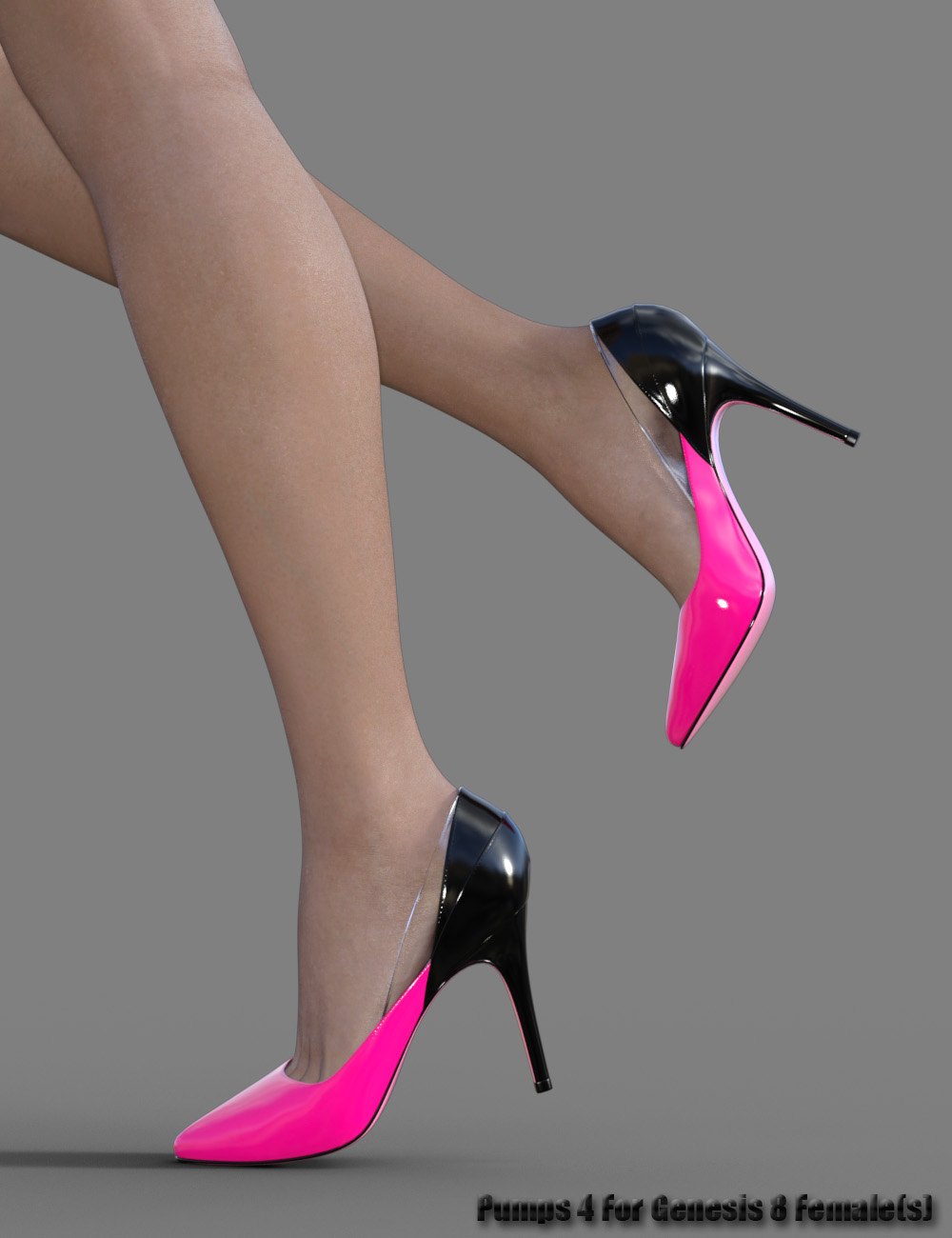 Pumps 4 for Genesis 8 Female(s) by: dx30, 3D Models by Daz 3D