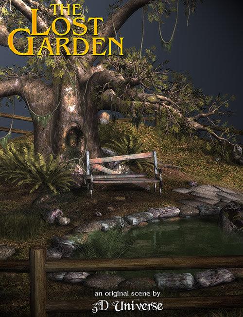 The Lost Garden by: 3D Universe, 3D Models by Daz 3D