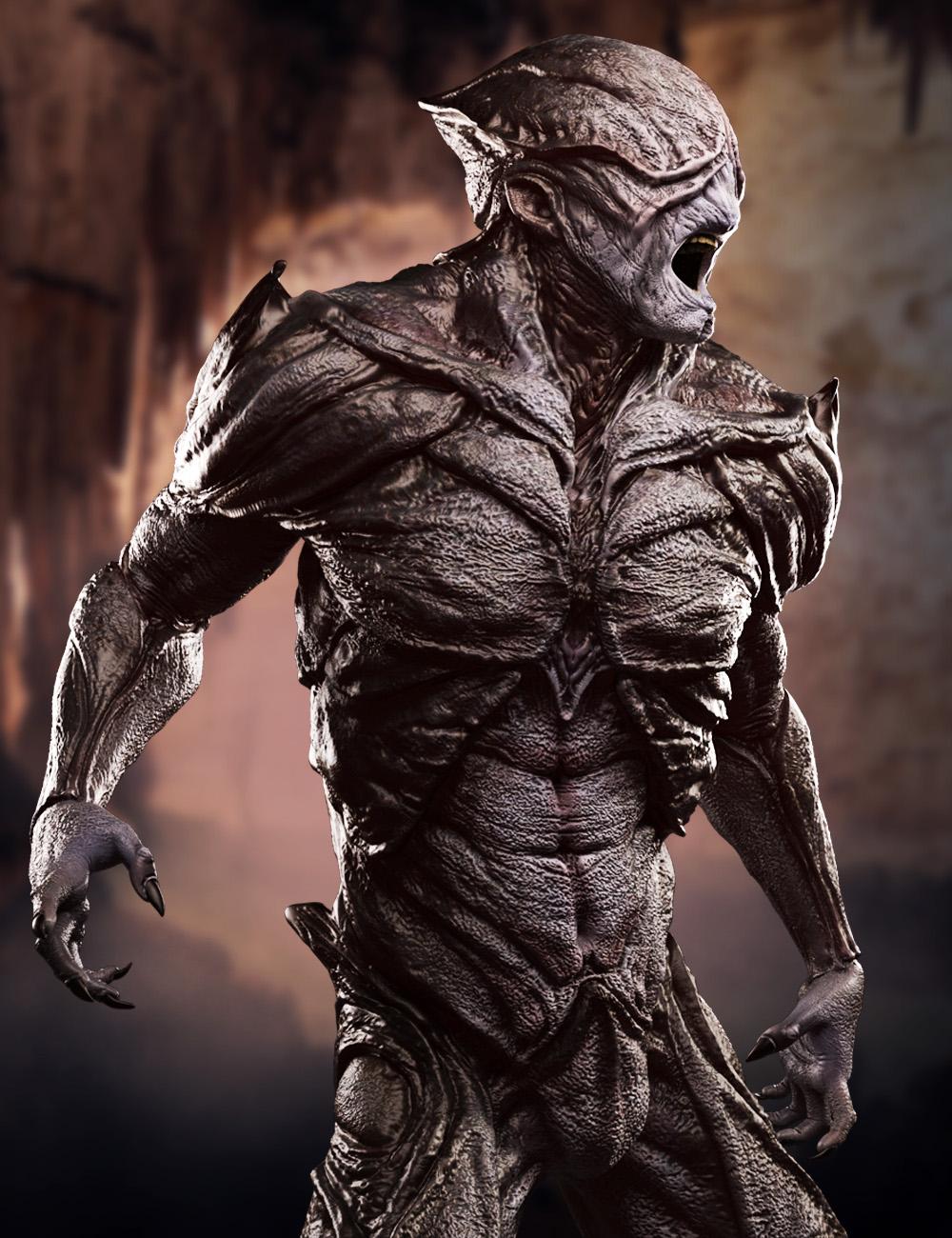 The Disruptor Alien HD for Genesis 3 Male by: , 3D Models by Daz 3D