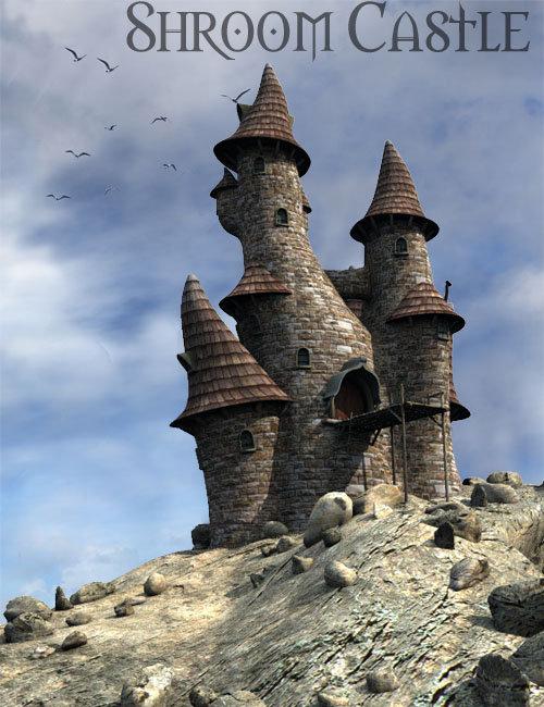 Shroom Castle by: , 3D Models by Daz 3D