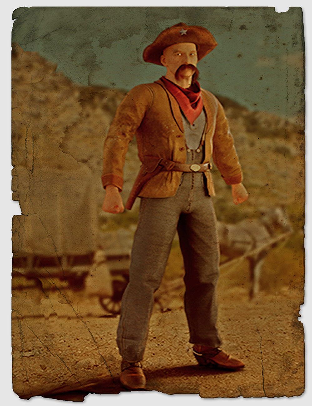 Shenandoah: Texas Ranger Outfit for Genesis 3 Male(s) by: Meshitup, 3D Models by Daz 3D