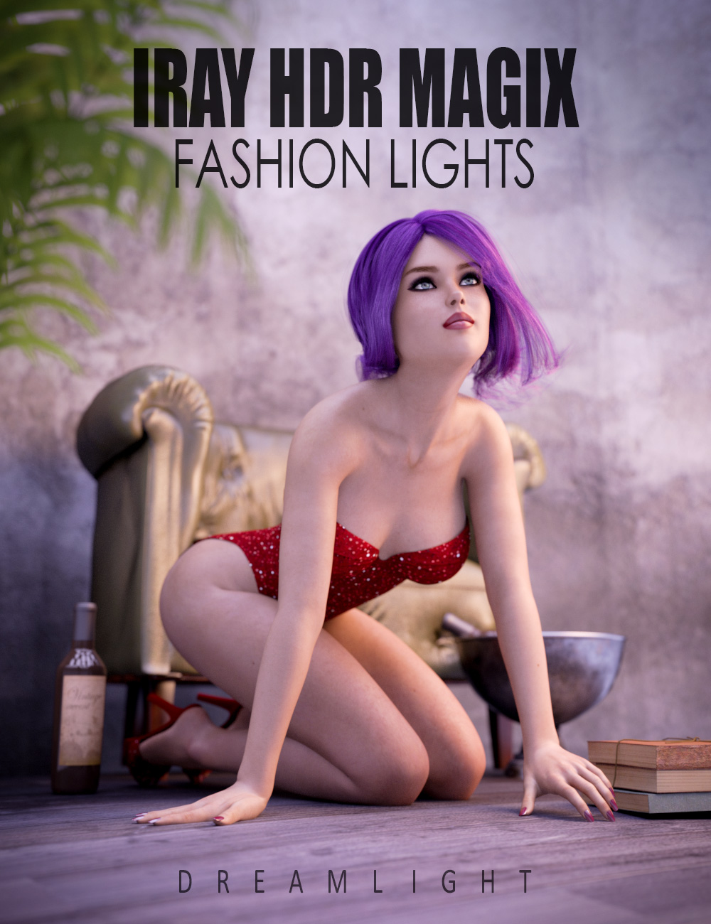 Iray HDR Magix Fashion Lights by: Dreamlight, 3D Models by Daz 3D