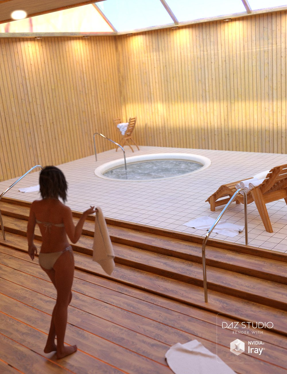 Jacuzzi Room by: , 3D Models by Daz 3D