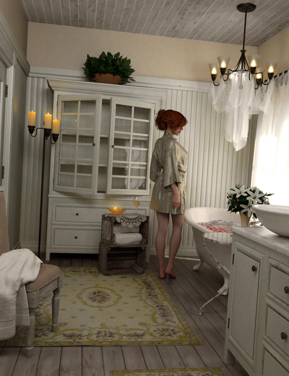 Woodman House: The Bathroom by: SloshWerks, 3D Models by Daz 3D