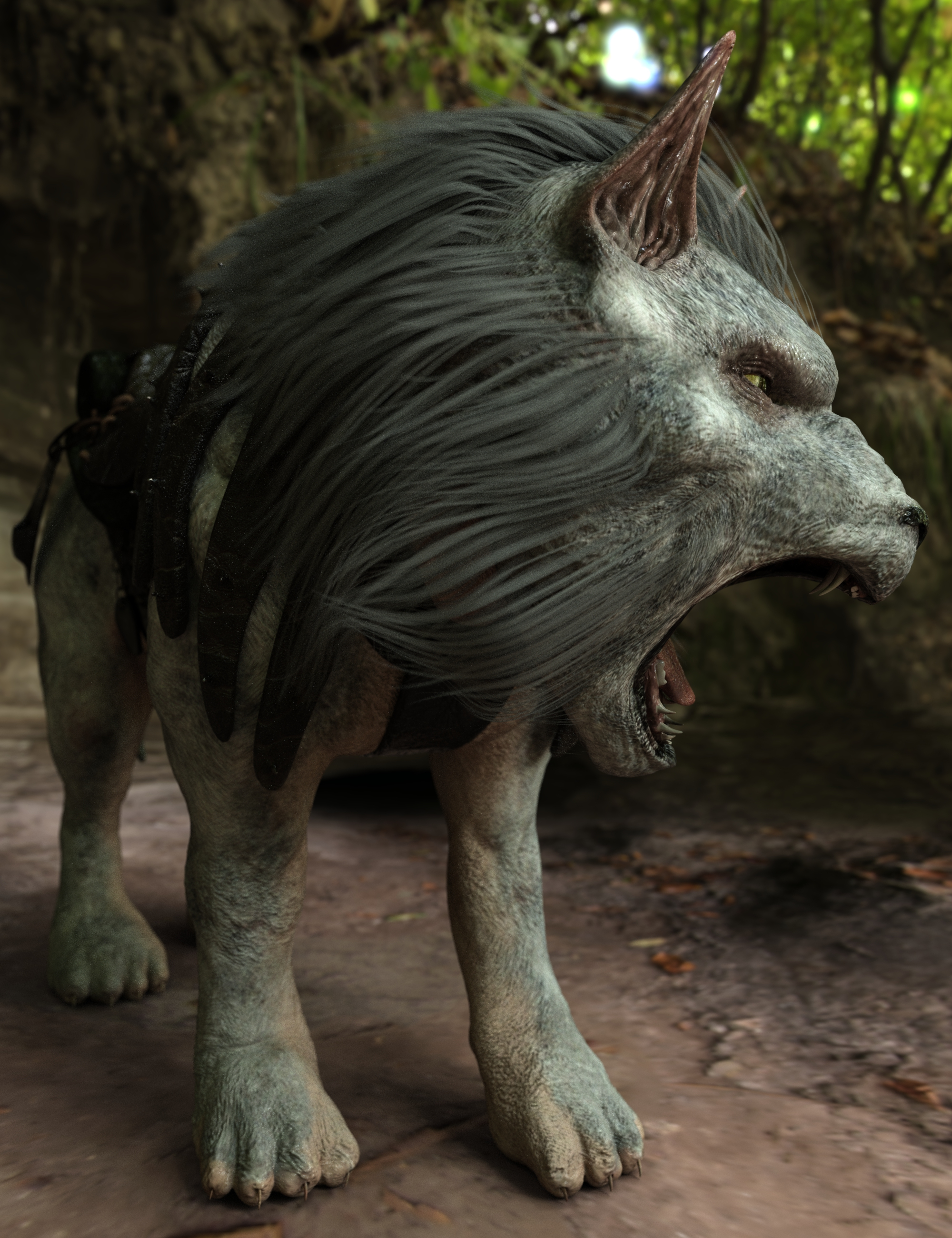 War Beasts: Uhrag by: Sixus1 Media, 3D Models by Daz 3D