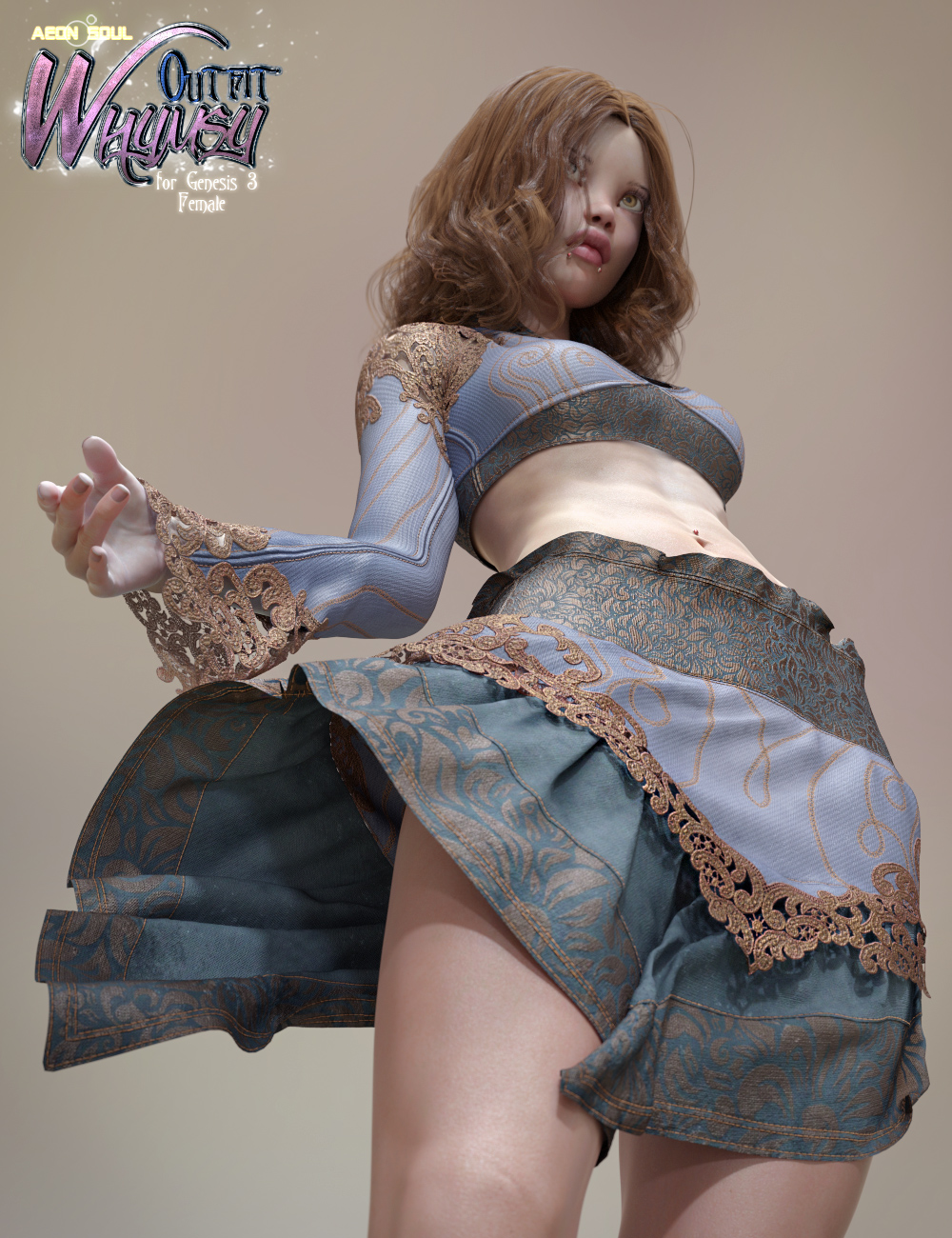 Whymsy Clothes for Genesis 3 Female(s) by: Aeon Soul, 3D Models by Daz 3D