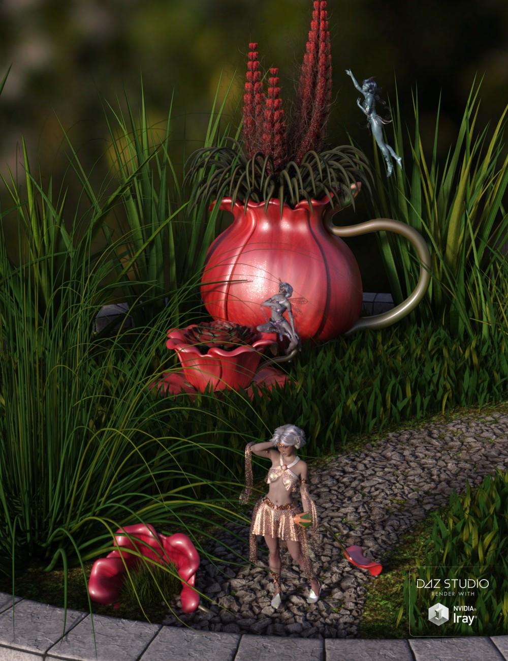 Celinette Retreat by: 3D-GHDesign, 3D Models by Daz 3D