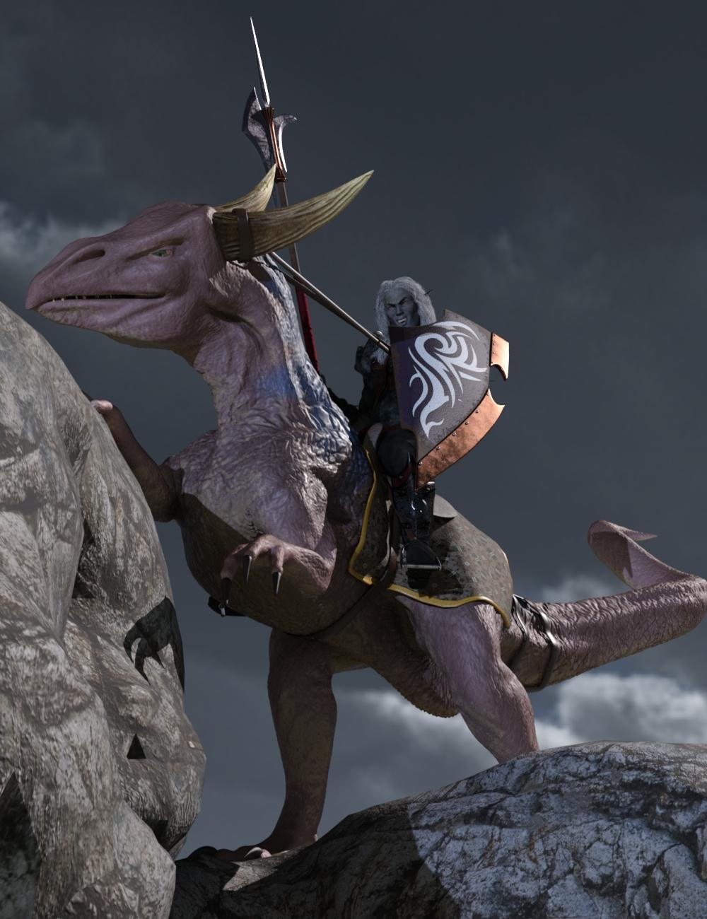 The Riding Drake by: Valandar, 3D Models by Daz 3D