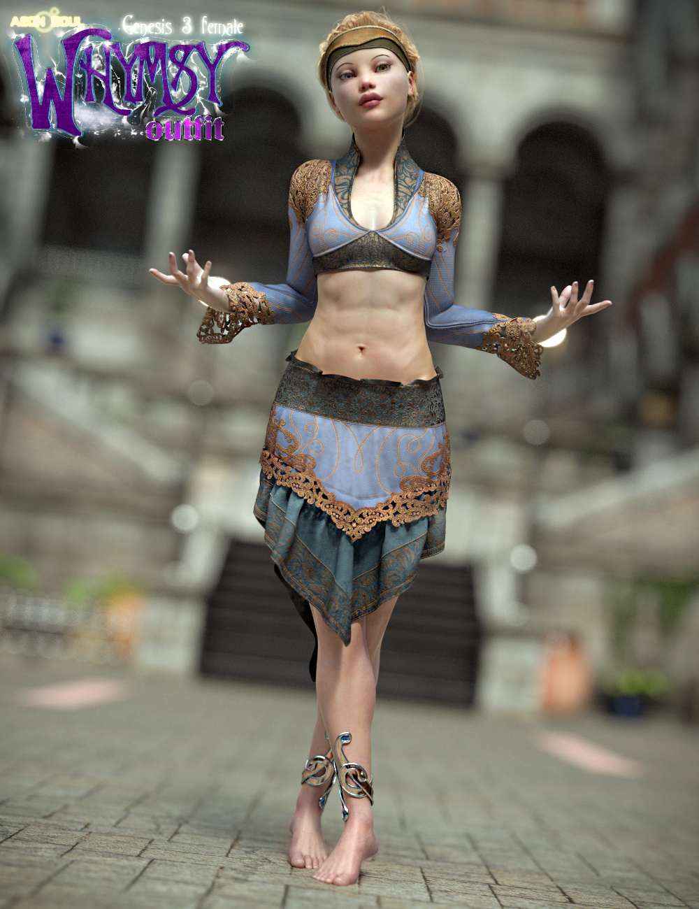 Whymsy Bundle by: Aeon Soul, 3D Models by Daz 3D
